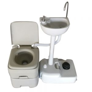 Environmental Protection Wash Basin Sink 5 Gallon Portable Toilet Flush