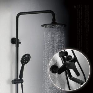 Bathroom Rain Mixer Shower Combo Set specification