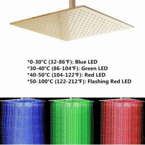 Bilu-hose Bathroom Thermostatic LED specification