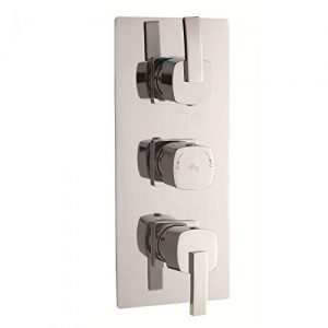 Hudson Reed - Arcade - Triple Concealed Thermostatic Shower Valve