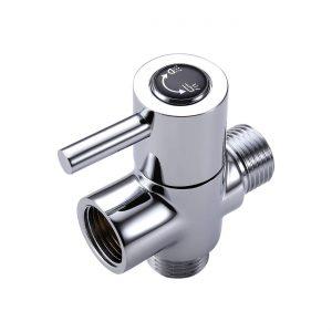 KES SOLID Brass Shower Arm Diverter Valve Bathroom Universal Shower System