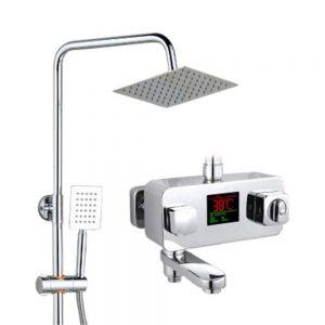 LTAYZ Bathroom Concealed Thermostatic Shower Set