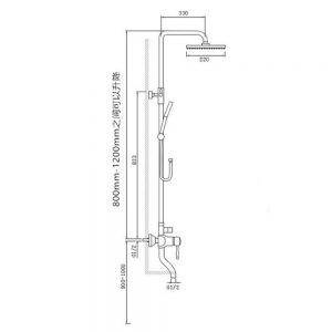 LTAYZ bathroom concealed Specifications