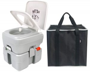 Leopard Portable Toilet 20L, with Level Indicator