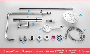 Thermostat Shower System Specifications