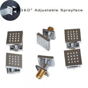 Ceiling LED Rain Shower Specifications