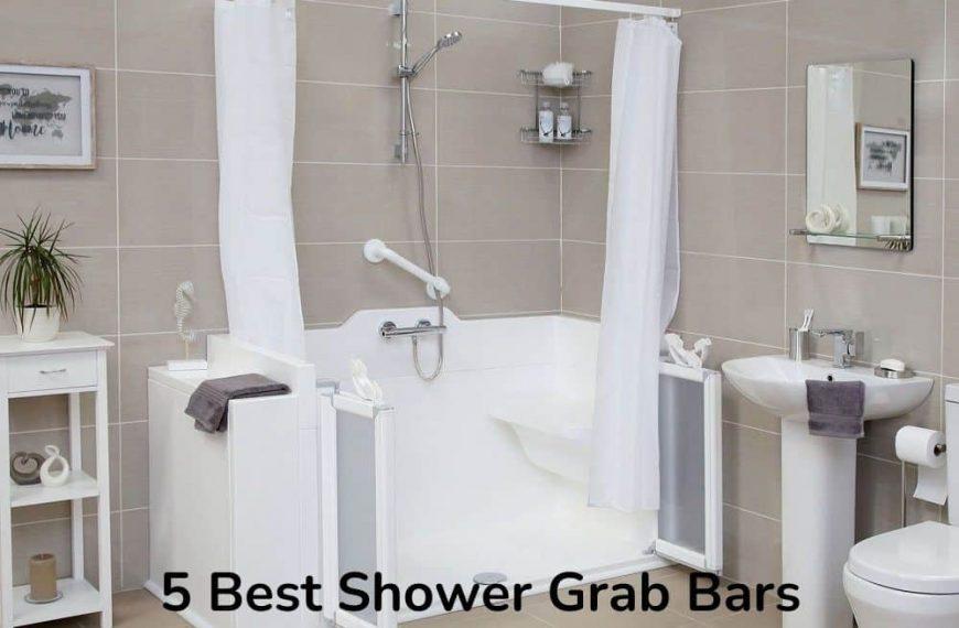 5 Best Shower Grab Bars for Bathroom Safety