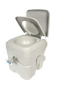 Camco Portable Travel Toilet-Designed for Camping, RV, Boating