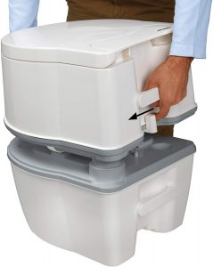 Porta Potti White Thetford Corp Reviews specifications