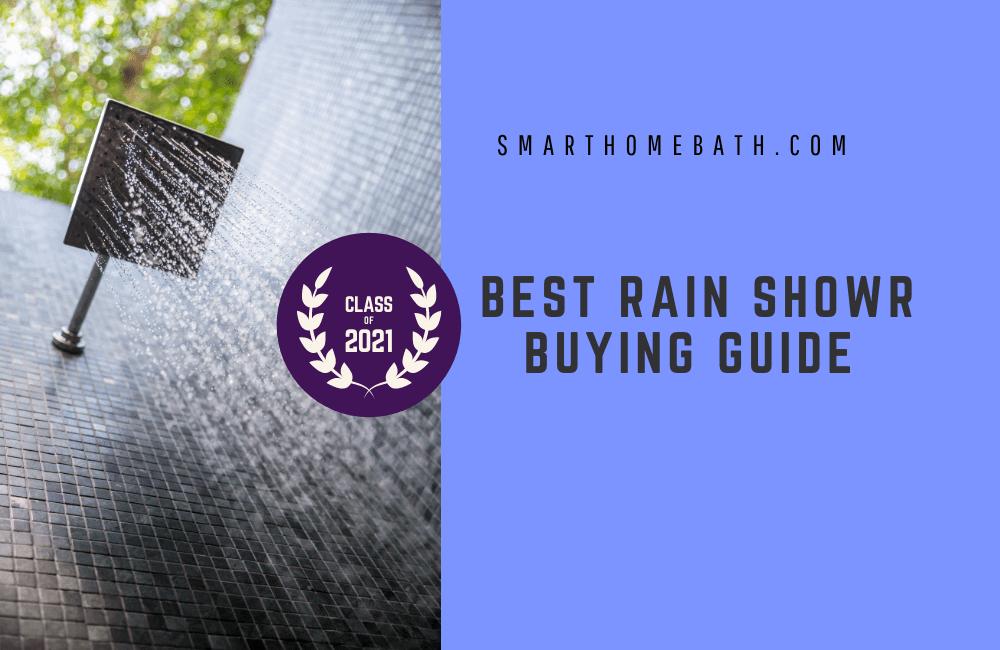 Best Rain Shower Head Buying Guide 2021 (1)